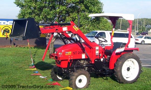 TractorData.com NorTrac NT-204C tractor photos information