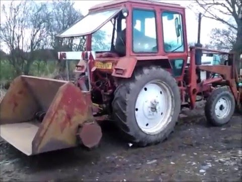 Belarus 560 Hydraulic test - YouTube