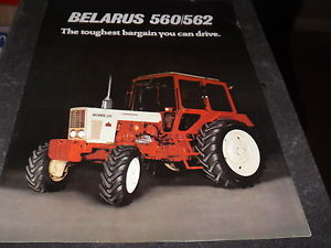 BELARUS 560 / 562 TRACTOR BROCHER SALES /SPEC | eBay