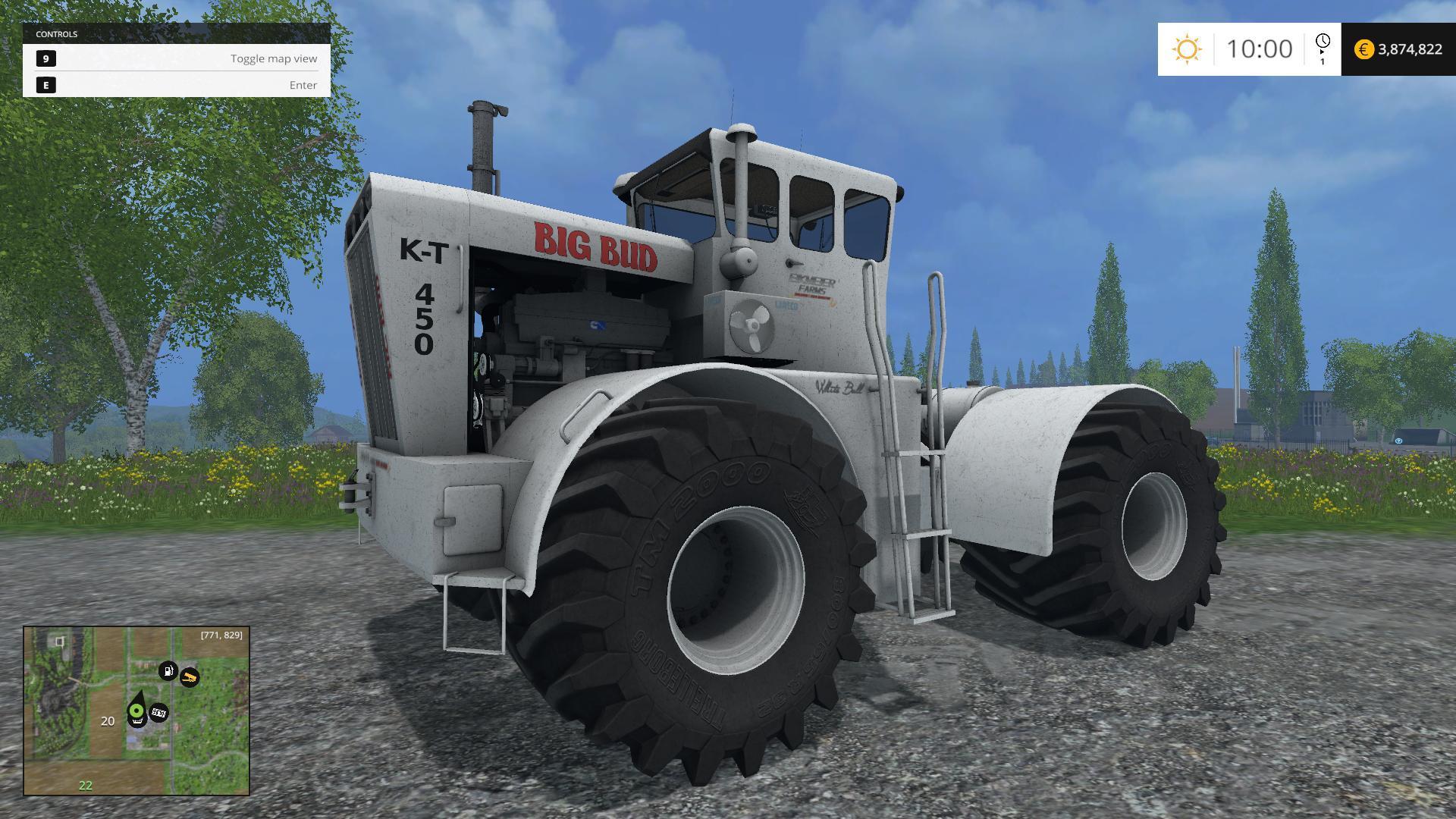 Big Bud KT 450 v2.0 - Modhub.us