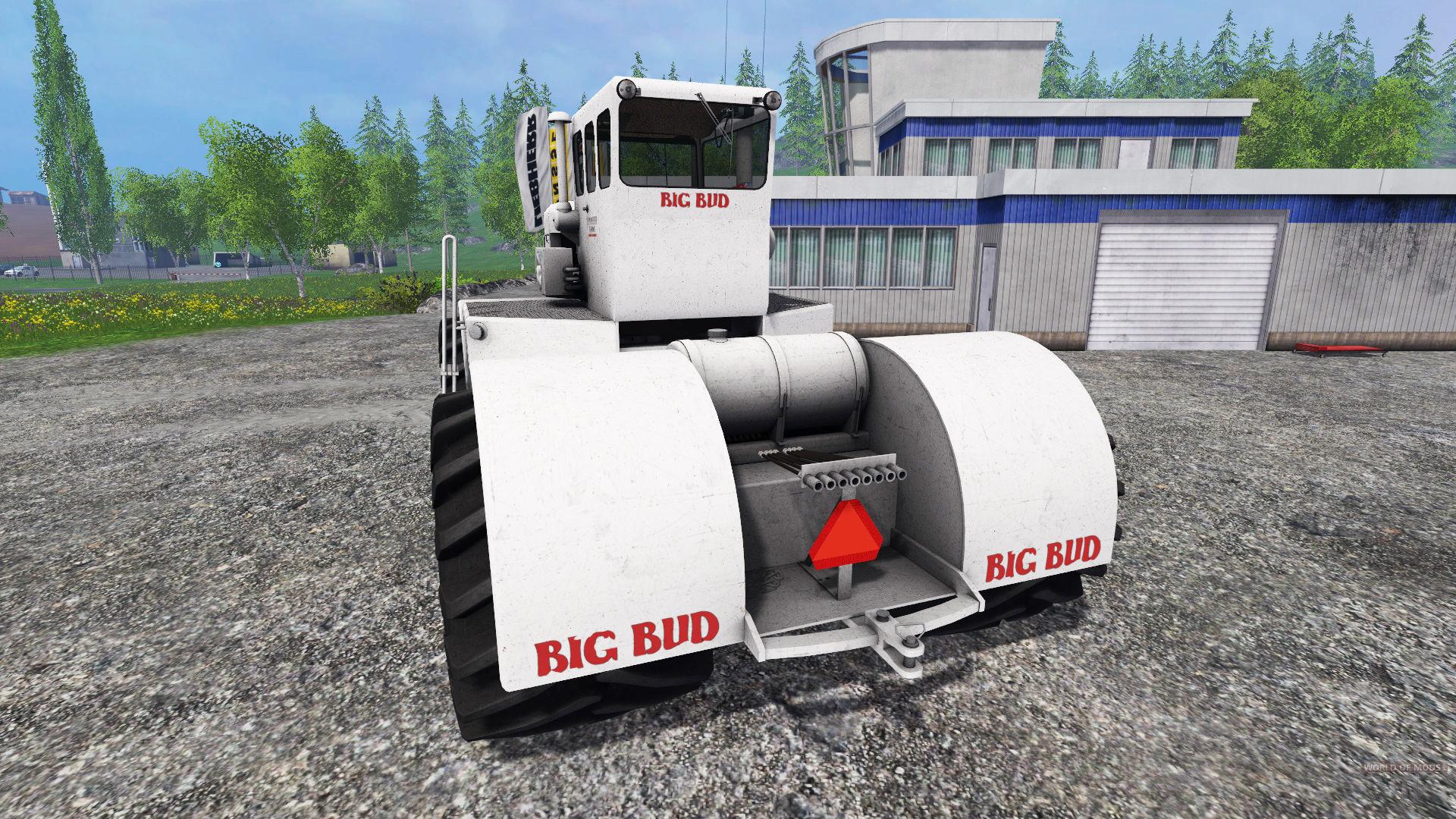Farm tractor Big Bud K-T 450 for Farming Simulator 15.
