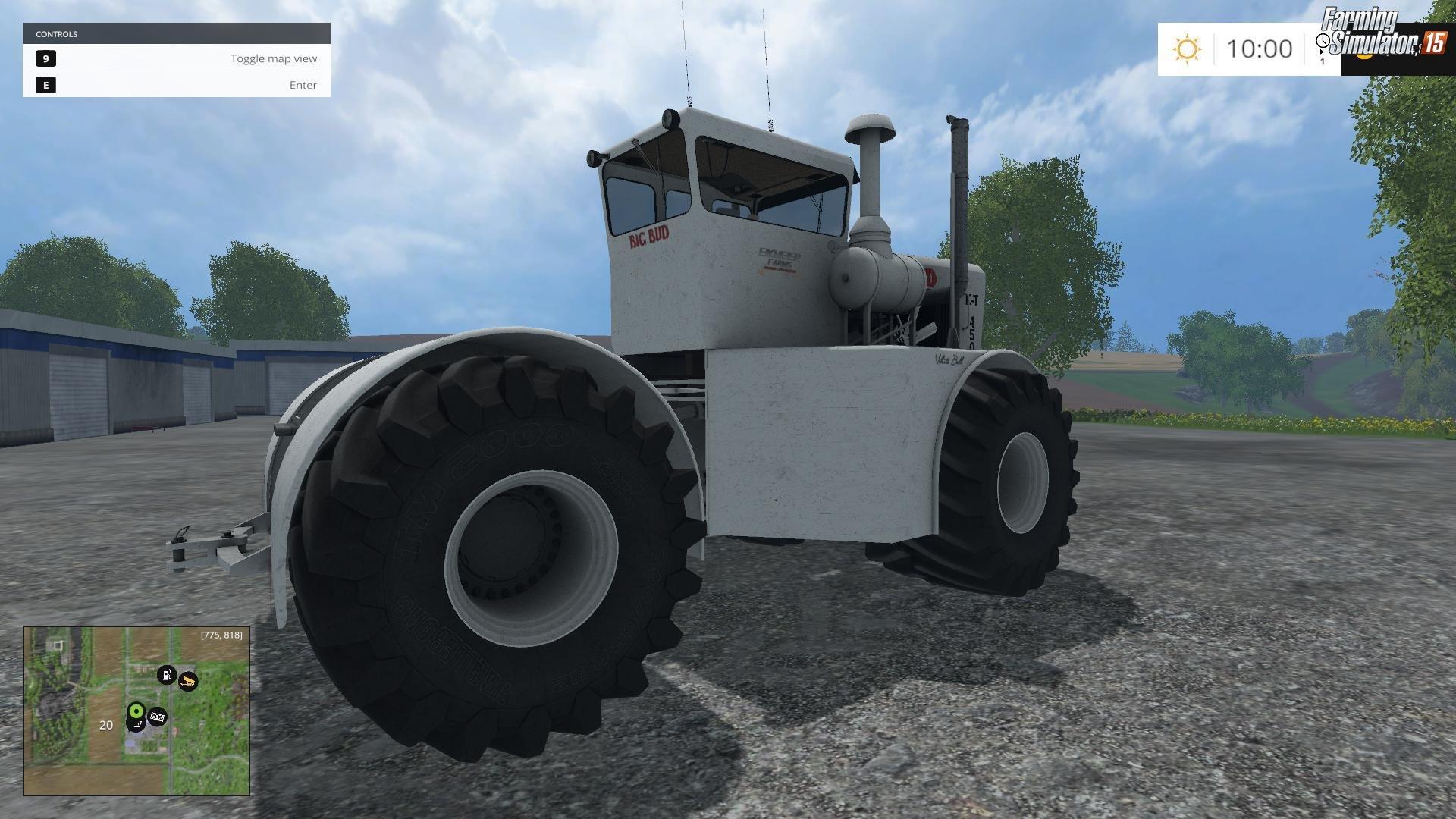 Tractor Big Bud KT 450 v2.0 for FS 15 » Download FS 15 Mods for free!