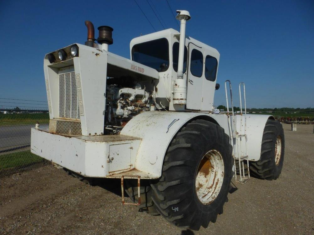 BIG BUD HN250 FOUR WHEEL DRIVE TRACTOR DUAL HYDRAULICS HARD TO FIND ...