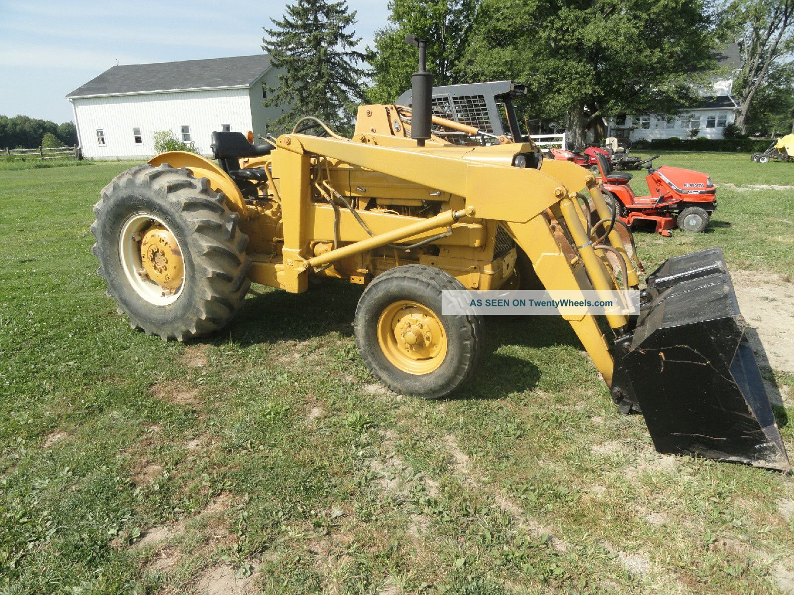 Ford Industrial 3500 With Front Loader Tractors photo
