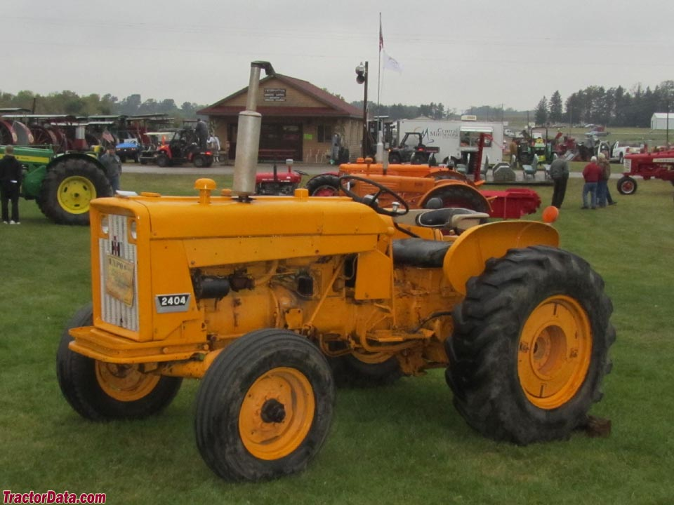 international harvester industrial tractors