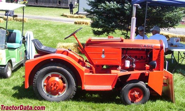 ji case industrial tractors