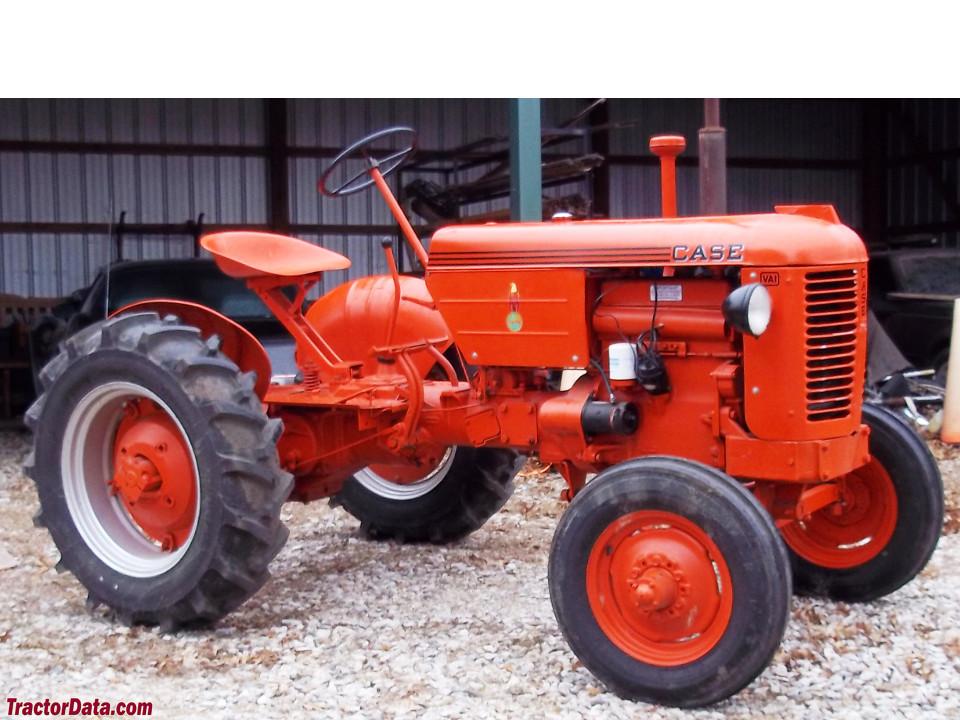 TractorData.com J.I. Case VAI industrial tractor photos information