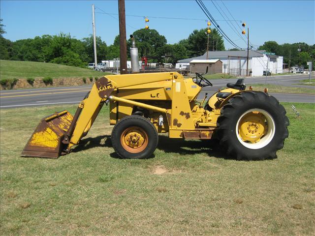 massey ferguson industrial tractors
