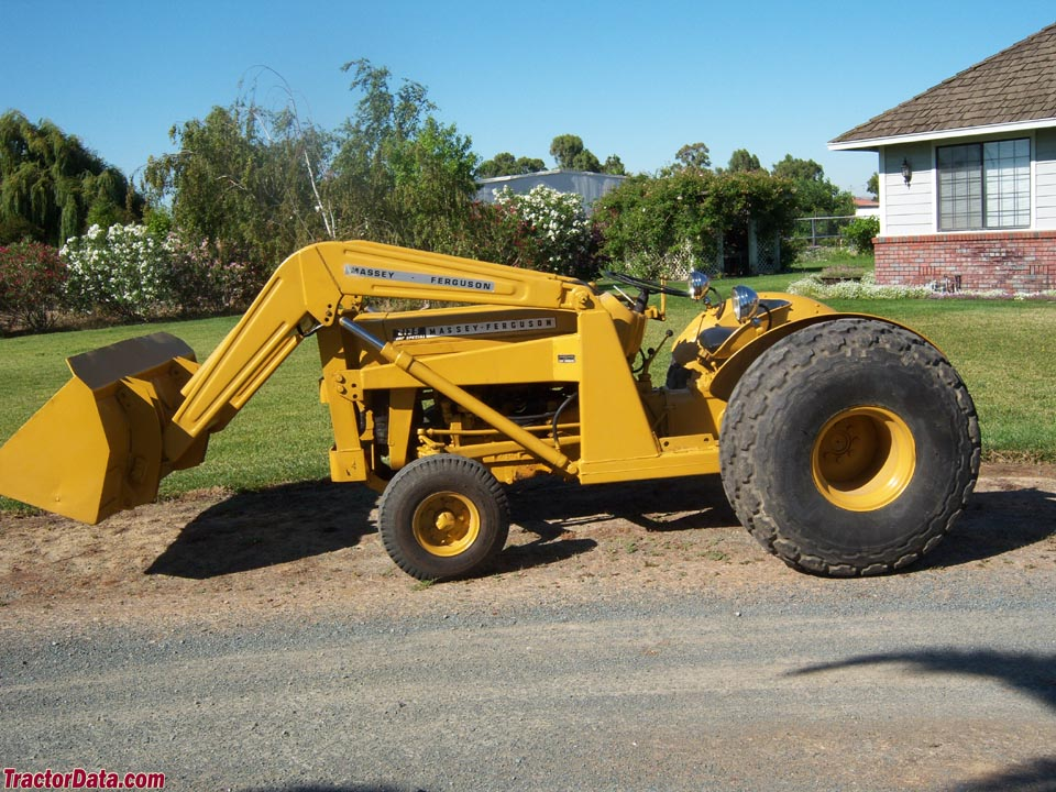 TractorData.com Massey Ferguson 2135 industrial tractor photos ...