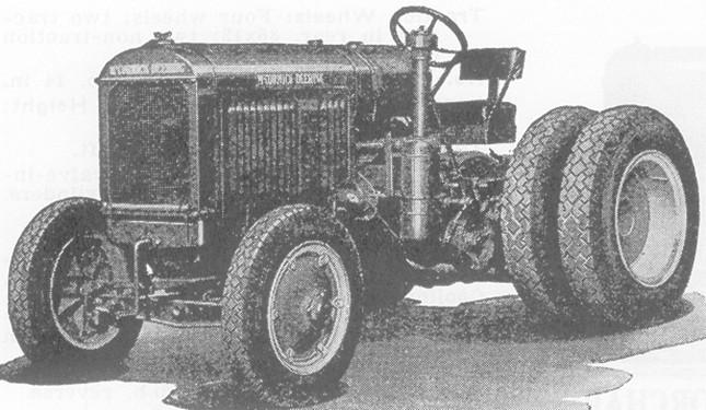 mccormick deering industrial industrial tractors