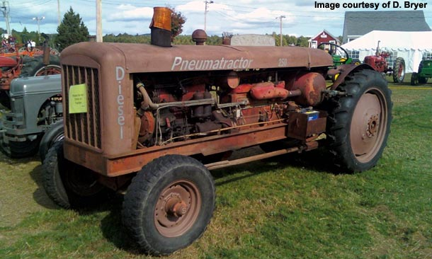 schramm industrial tractors