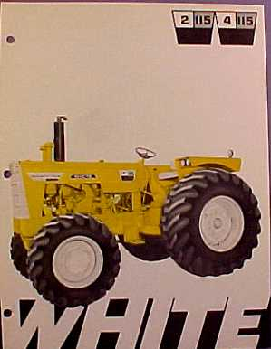 White 4-115 Mighty Tow Industrial | Tractor & Construction Plant Wiki ...