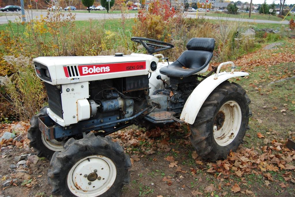 Pics Photos - Bolens Iseki Diesel Lawn Garden