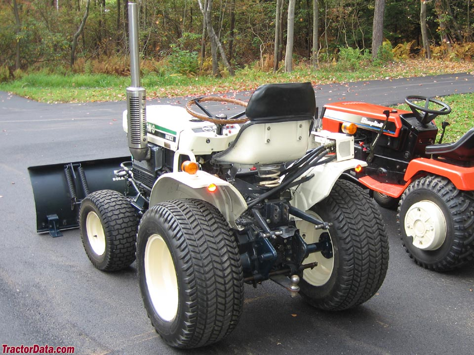 TractorData.com Bolens G174 tractor photos information