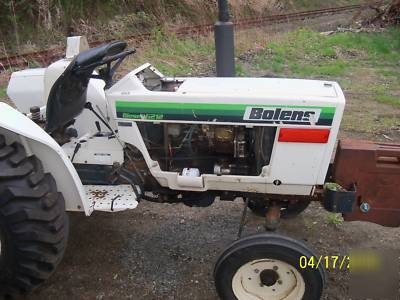 Bolens diesel G212 tractor 21HP w/ 5' 3PT finish mower