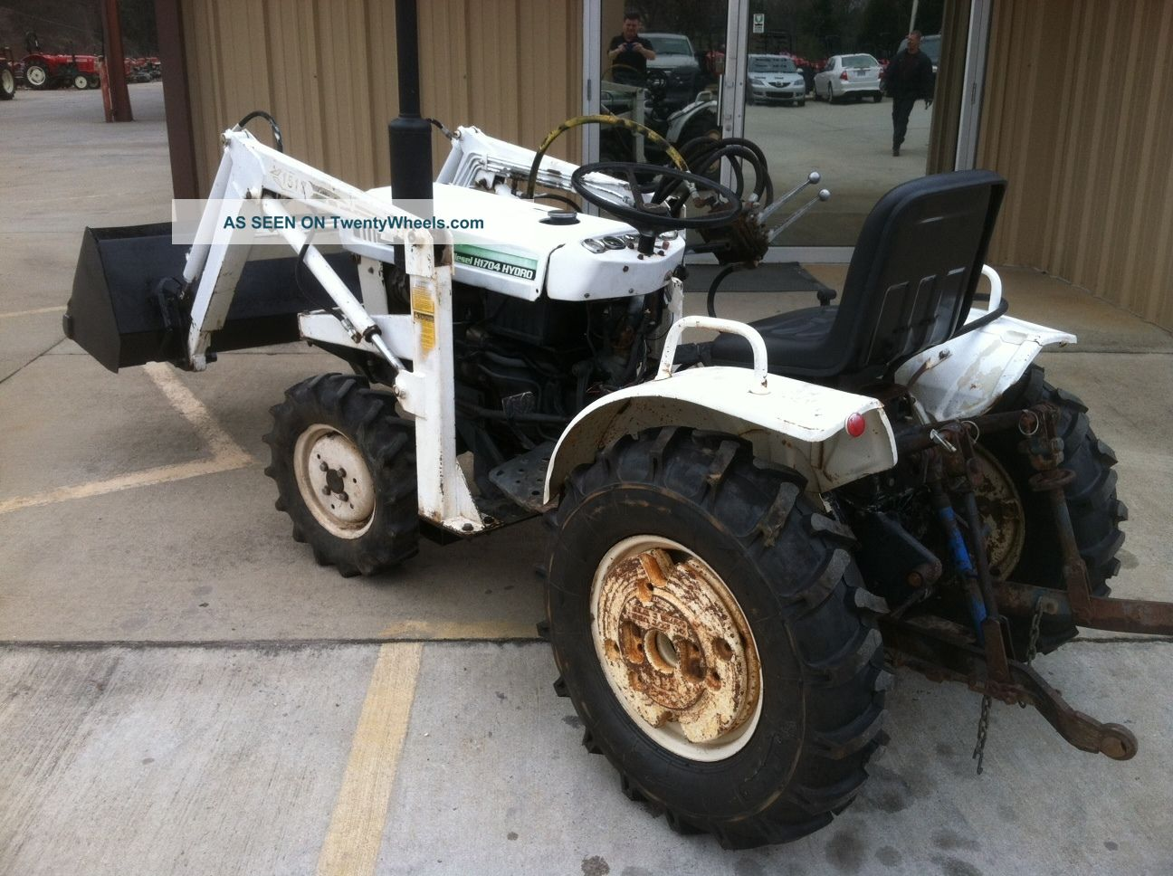 Bolens H1704 Hydrostatic With Fel Tractors photo 1