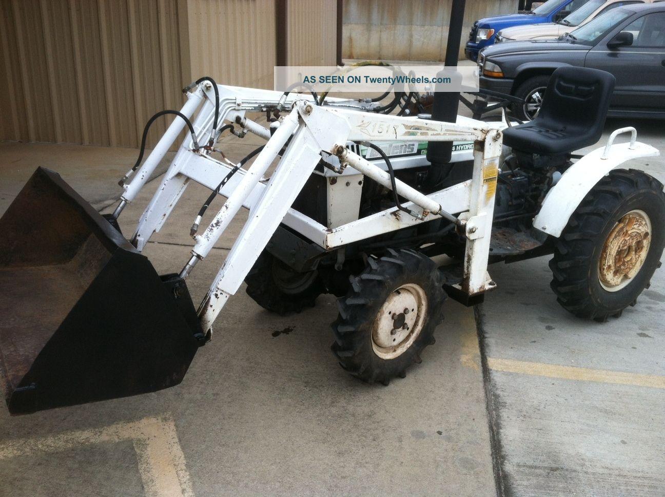 Bolens H1704 Hydrostatic With Fel Tractors photo