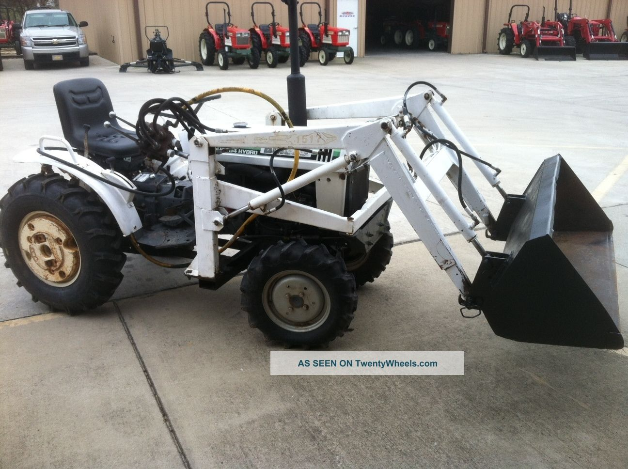 Bolens H1704 Hydrostatic With Fel Tractors photo 2