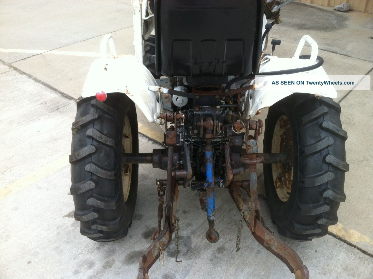Bolens H1704 Hydrostatic With Fel Tractors photo 3