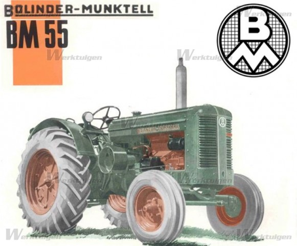 Bolinder-Munktell BM 55: Photo gallery, complete information about ...