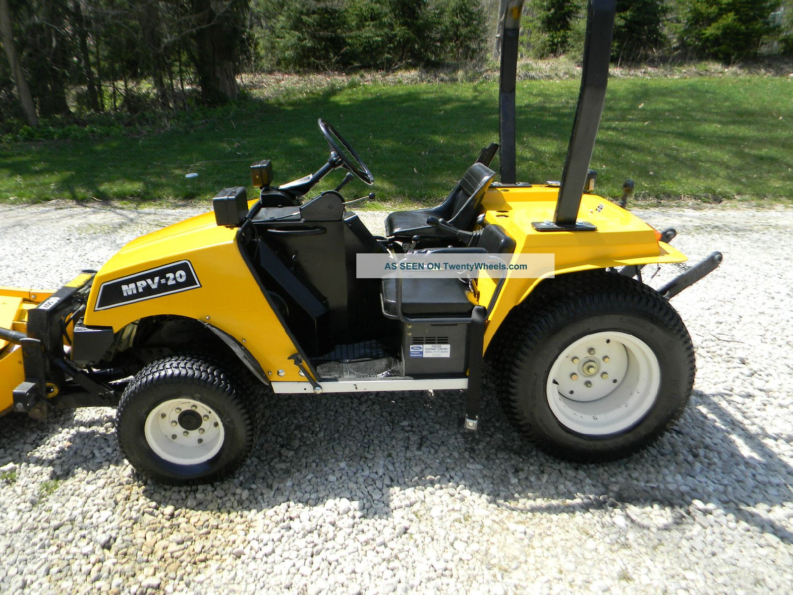 Bombardier Mpv20 Diesel 4wd Utv, Gator, Mule Utility Vehicles photo 7