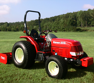 branson 3510i red rugged reliable branson 3510i with turf tire and box ...