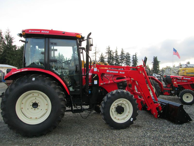 Branson 8050 Compact Tractor Loader