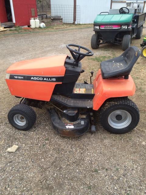 agco lawn tractors
