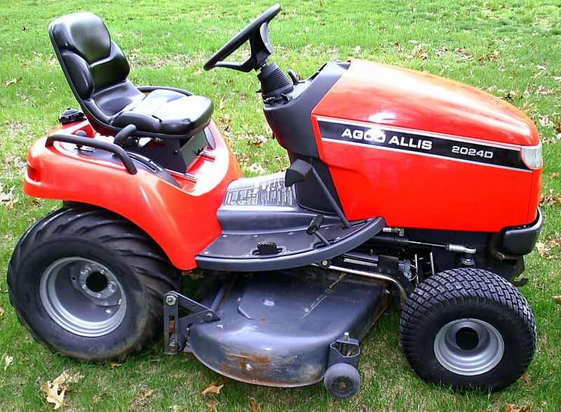 AGCO-Allis Garden Tractors - Tractor & Construction Plant Wiki - The ...