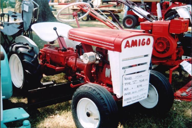 amigo lawn tractors