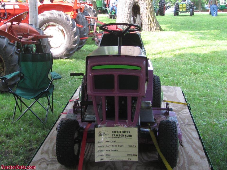arctic enterprises lawn tractors