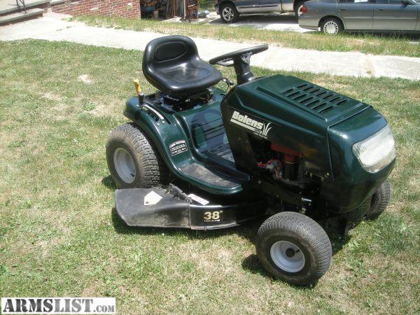 bolens lawn tractors