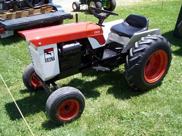 colt lawn tractors