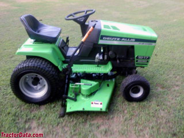 deutz allis lawn tractors