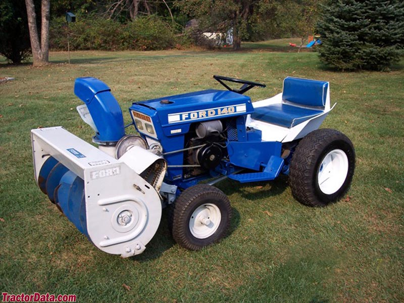 ford lawn tractors