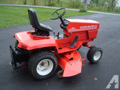 gravely lawn tractors