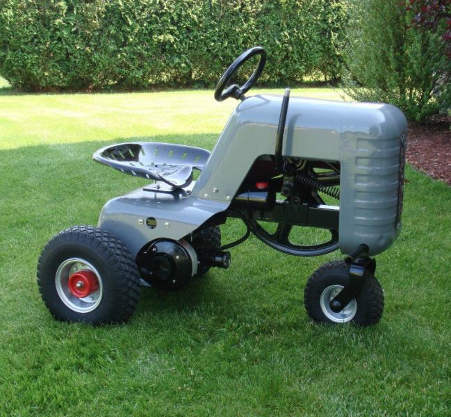 hiller yard lawn tractors