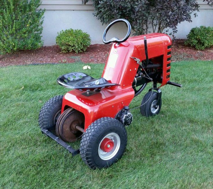 Hiller Craftsman Yard Hand Yardhand Yardman Vintage Garden Tractor ...