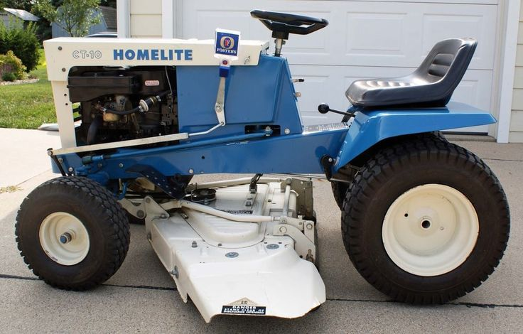 homelite lawn tractors