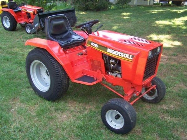 ingersoll lawn tractors