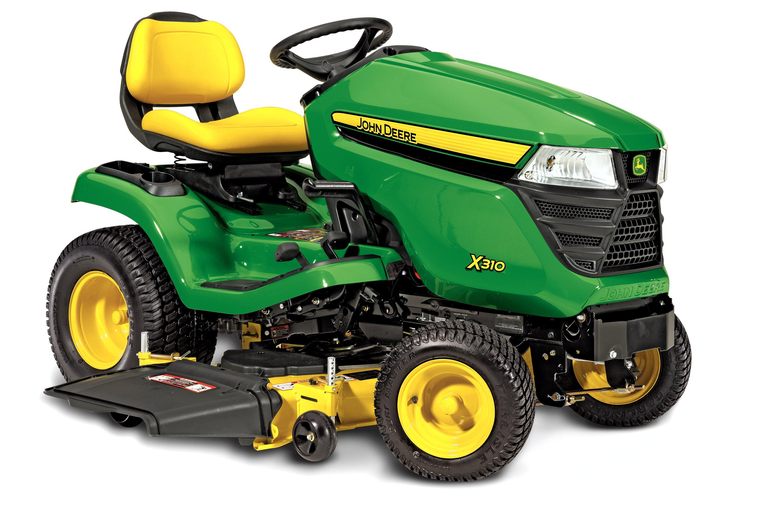 John Deere lawn tractors get a facelift