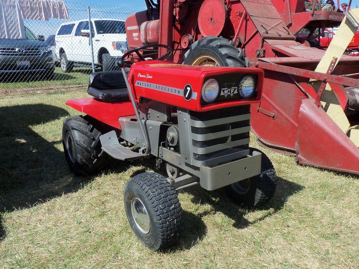 massey ferguson lawn tractors