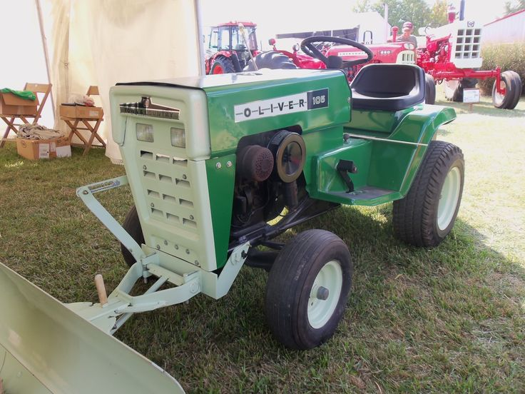 oliver lawn tractors