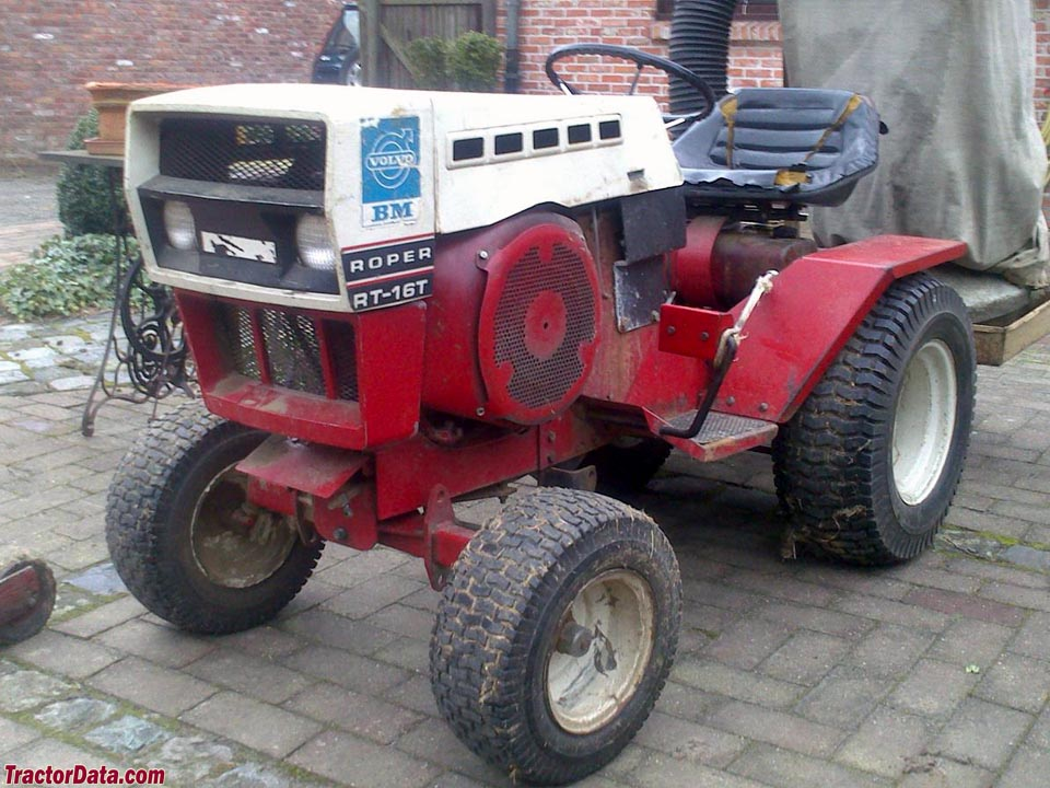 Roper+Lawn+Tractor TractorData.com Roper T63231R RT-16T tractor photos ...