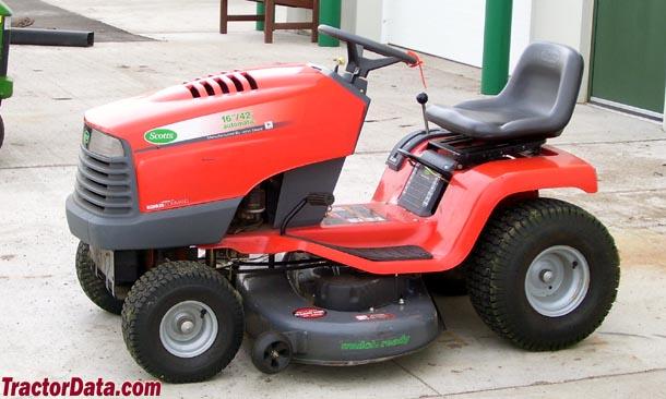 scotts lawn tractors