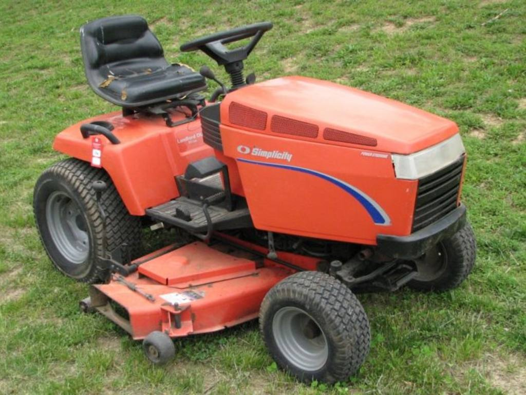Pin Simplicity Lawn Tractor on Pinterest
