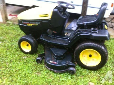 stanley lawn tractors