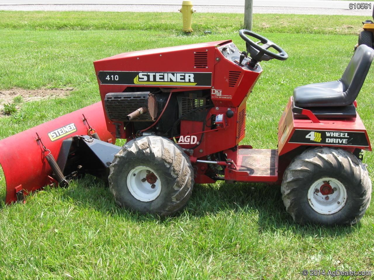 steiner lawn tractors