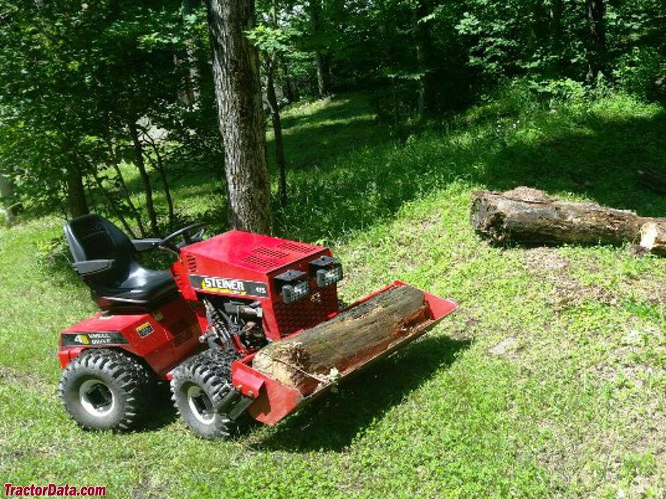 TractorData.com Steiner 415 tractor photos information