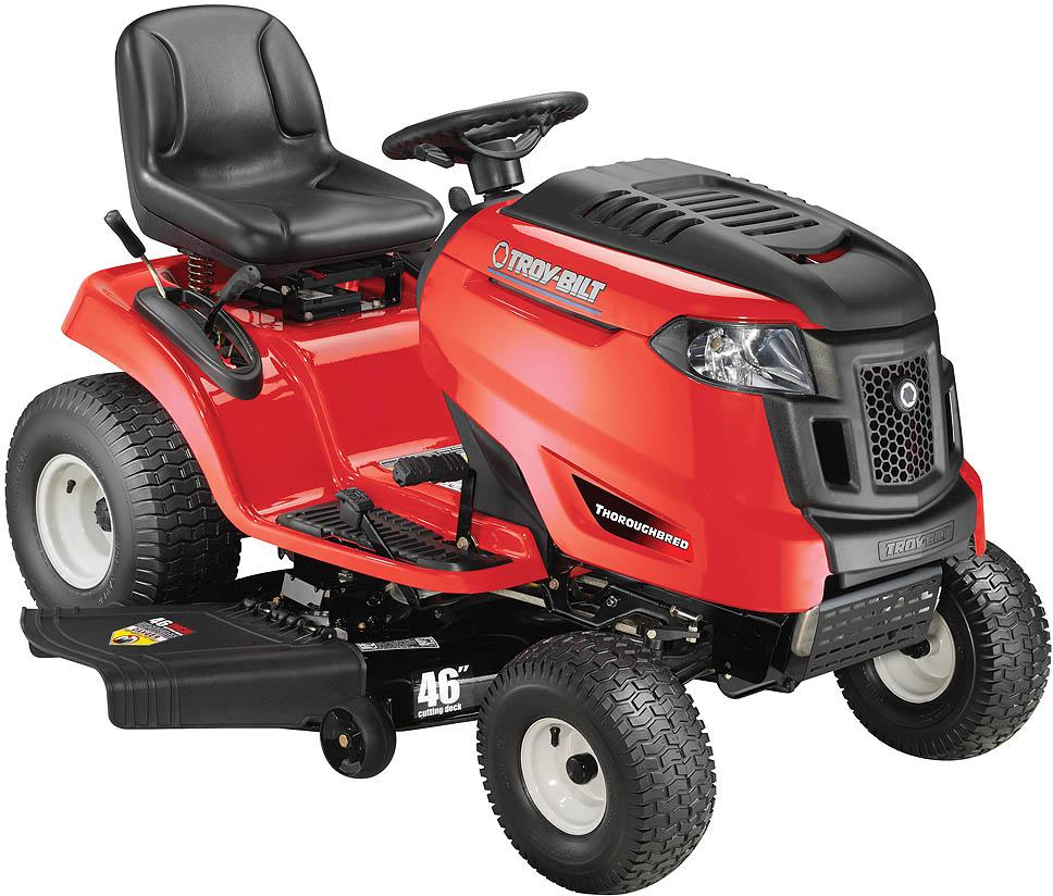 troy bilt lawn tractors